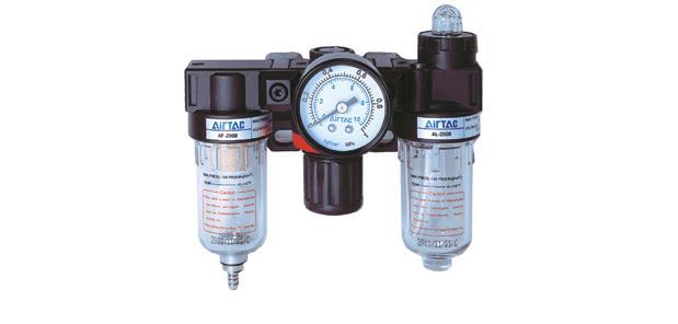 亚德客AC系列气源处理三连件