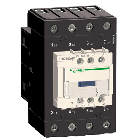 LC1DT60AP7四级交流接触器 施耐德SCHNEIDER