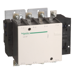 TeSys F系列四极接触器 185A 24VDC【LC1F1854BD】