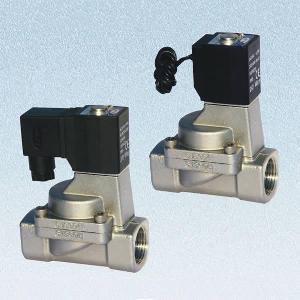 亚德客流体控制阀 亚德客2L系列(二口二位先导常闭型)流体控制阀