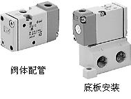 上海代理日本SMC三通电磁阀