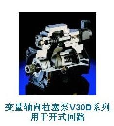 哈威V30D和V60N In-Line型轴向变量柱塞泵