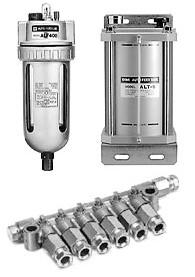 SMC自动给油型油雾器 ALF