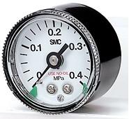 SMC洁净减压阀用压力表 G46- * - * -SRA,B