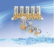 SMC水·空气用小型直动式2通电磁阀 VDW