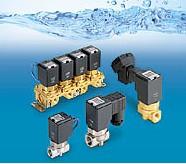 SMC水用直动式2通电磁阀 VCW