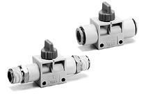 SMC全气控系统元件指形手动阀 VHK