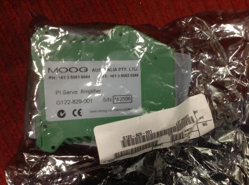 MOOG穆格放大器选型样本,MOOG分销商