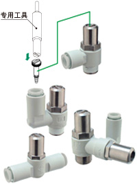特价SMC速度控制阀AS系列,SMC气动元件
