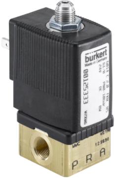 正品宝德两位三通柱塞电磁阀,BURKERT6014系列