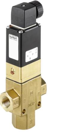 出售BURKERT两位三通活塞电磁阀,德国宝德0344系列