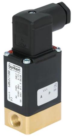 进口宝德直动式两位两通电磁阀0330,BURKERT电磁阀