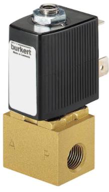 宝德6012直动式两位三通柱塞电磁阀,BURKERT阀